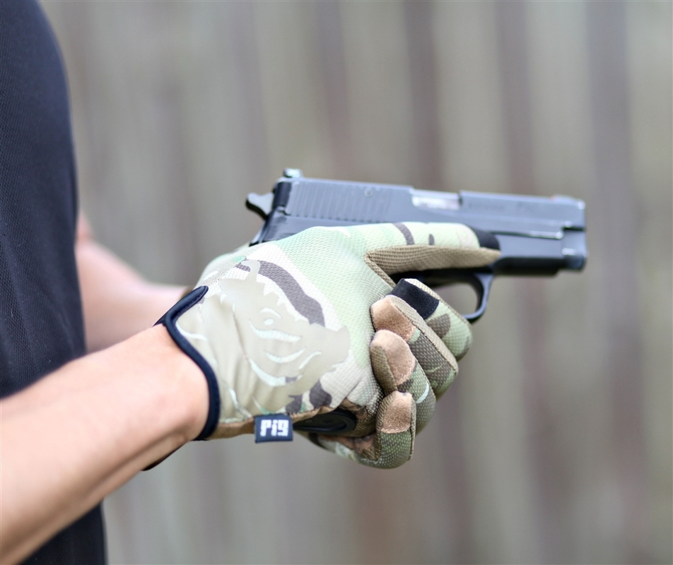 Shooting In Delta Colorado: PIG Delta Utility Glove Multicam