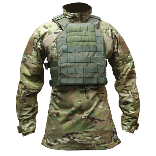 OPS Easy Plate Carrier Ranger Green