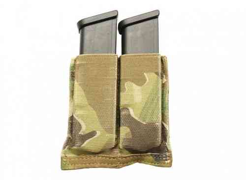 Blue Force Gear Ten Speed Double Pistol Mag Pouch Multicam