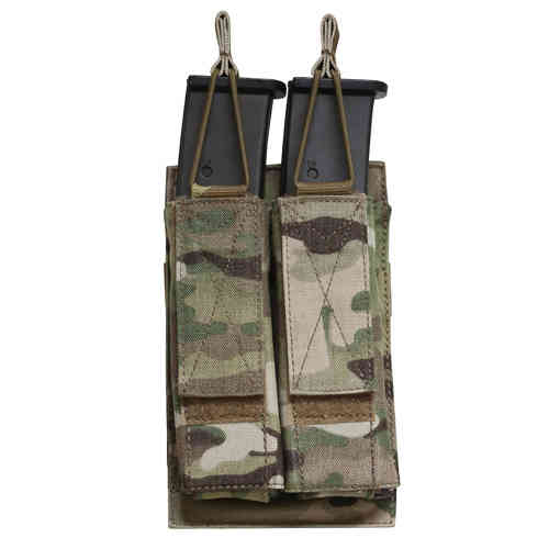 OPS Double Shingle SMG Magazine Pouch Multicam