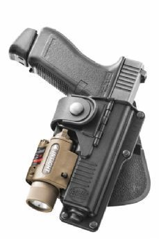 Fobus Glock 17/22 Light Bearing Holster (right hand)