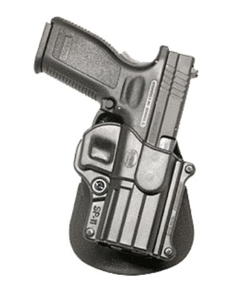 Fobus Paddle Holster for Springfield XD XDM (right hand)