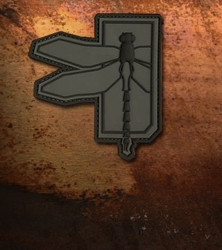 Haley Strategic Dragonfly Patch Disruptive Grey