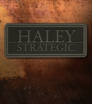 Haley Strategic Brand PVC Patch Disruptive Grey