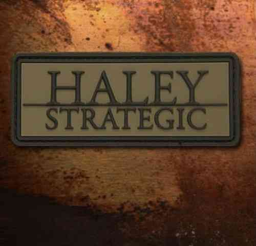 Haley Strategic Brand PVC Patch Olive Drab