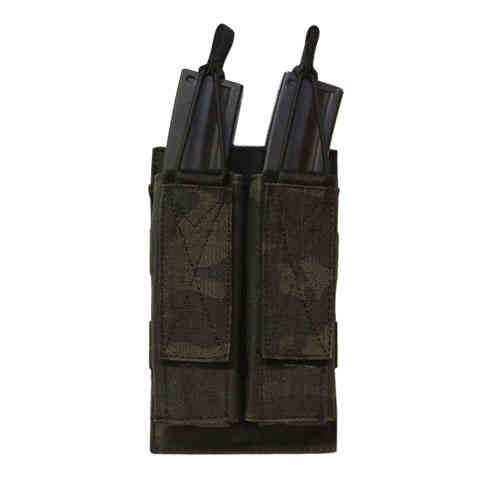 OPS Double Shingle SMG Magazine Pouch Multicam Black