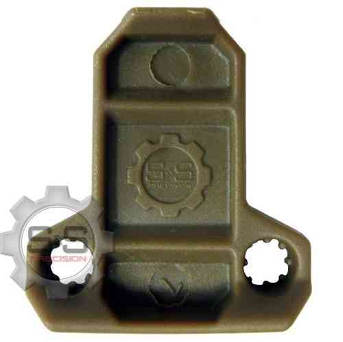 S&S Precision Pull Tabs Coyote Tan 6 pack