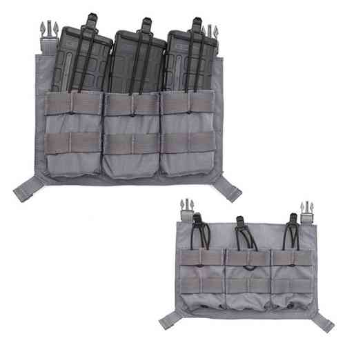LBX Tactical Triple M4 Panel Wolf Grey