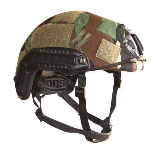 OPS FAST Helmet Cover M81 Woodland