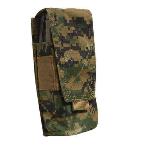 OPS Double 556/AK Mag Pouch Woodland MARPAT