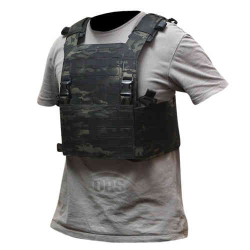 OPS Advanced Modular Plate Carrier Multicam Black
