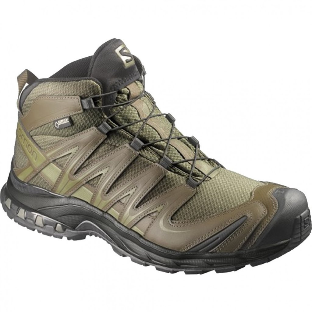 Salomon Forces Xa Pro 3d Mid Gtx Iguana Green Huey S