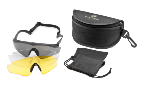 Revision Sawfly MAX Deluxe Kit 3 Lenses Black / Yellow size regular