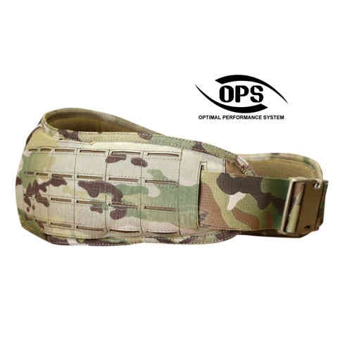 OPS Laser Cut Padded MOLLE Belt Multicam