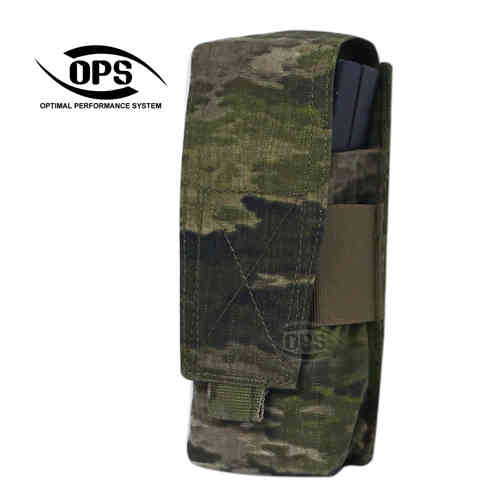 OPS Double 556/AK Mag Pouch A-TACS iX