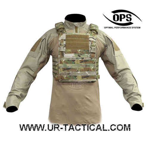 OPS Integrated Tactical Plate Carrier Multicam