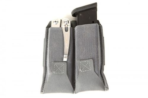 Blue Force Gear Ten Speed Belt Mounted Double Pistol Mag Pouch Wolf Grey