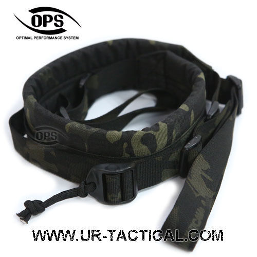 OPS 2 Point Tactical Rapid Sling Multicam Black