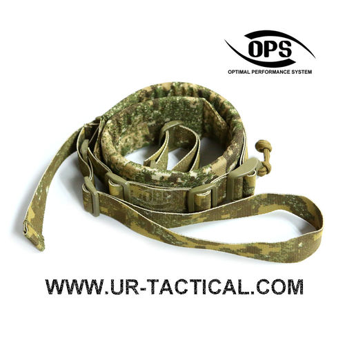 OPS 2 Point Tactical Rapid Sling PenCott Badlands