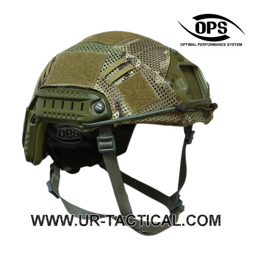 OPS Combat Mesh Helmet Cover for OPSCORE Ballistic High Cut Multicam