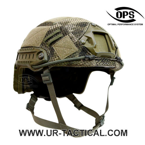 OPS Combat Mesh Helmet Cover for OPSCORE Ballistic High Cut A-TACS iX