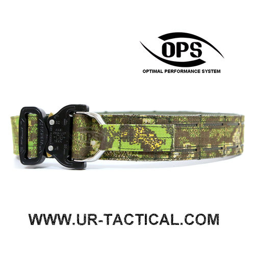 OPS D-Ring Cobra Warrior Belt PenCott GreenZone