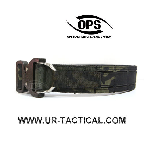 OPS D-Ring Cobra Warrior Belt Multicam Black