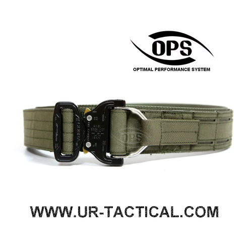 OPS D-Ring Cobra Warrior Belt Ranger Green