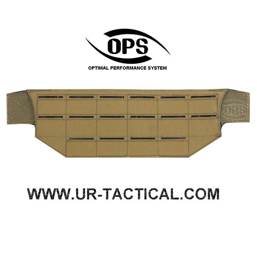 OPS Modular Belt Mount MOLLE Panel Coyote Brown