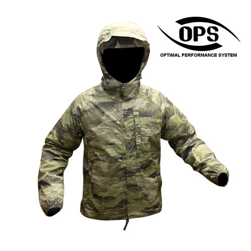 OPS Tactical Wind Jacket A-TACS iX