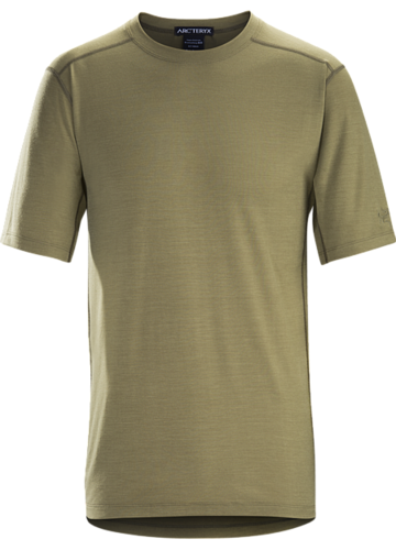 Arc'Teryx LEAF Cold WX T-shirt AR Wool Mens Crocodile