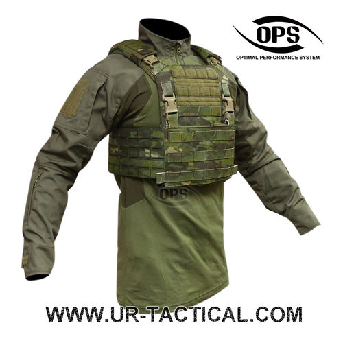 OPS Integrated Tactical Plate Carrier Multicam Tropic