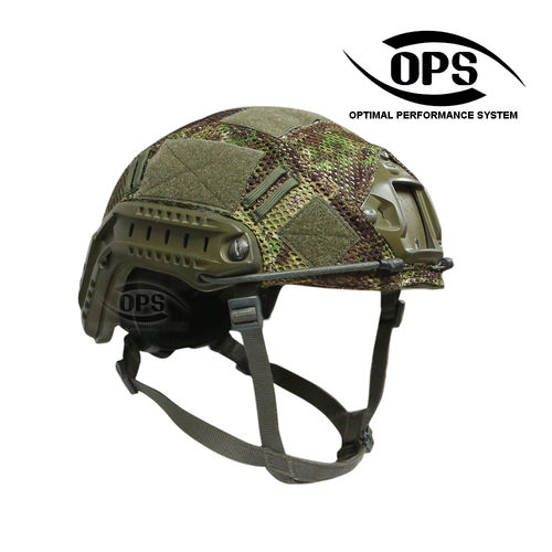 OPS Combat Mesh Helmet Cover for OPSCORE Ballistic High Cut PenCott GreenZone