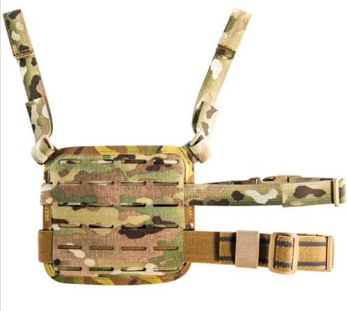 High Speed Gear Drop Leg Laser Panel Multicam