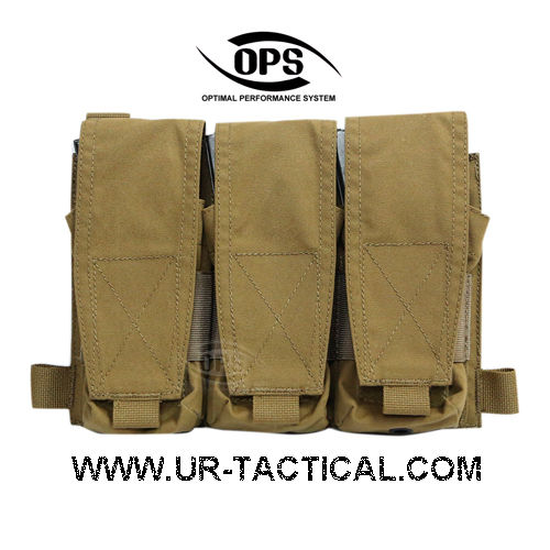 OPS Triple M4 Mag Pouch/Panel Coyote Brown