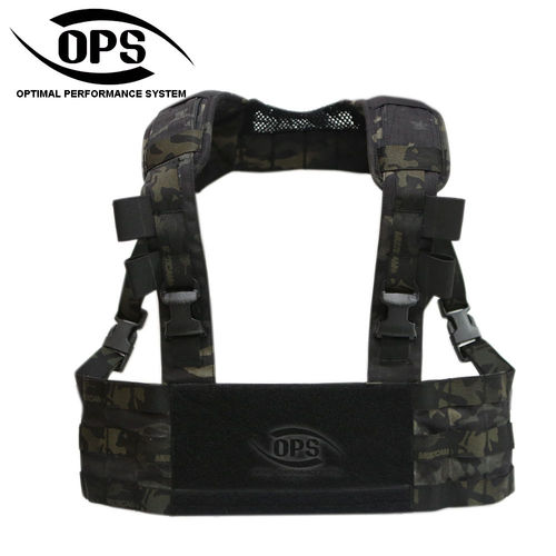 OPS MINIMO Chest Rig Multicam Black