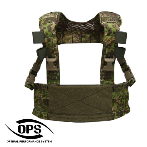 OPS MINIMO Chest Rig PenCott GreenZone
