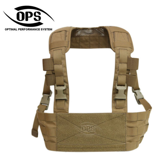 OPS MINIMO Chest Rig Coyote Brown