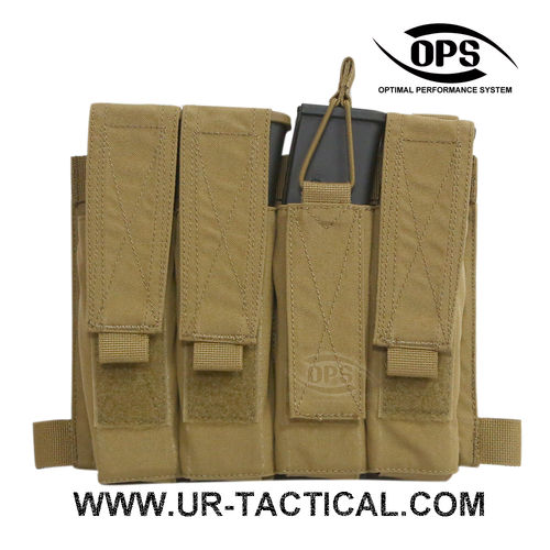 OPS Quattro SMG Pocket / Panel Coyote Brown