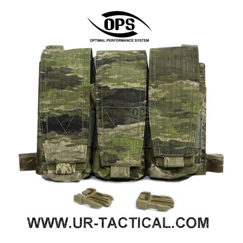 OPS Triple M4 Mag Pouch/Panel A-TACS iX