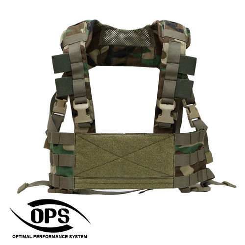 OPS MINIMO Chest Rig M81 US Woodland