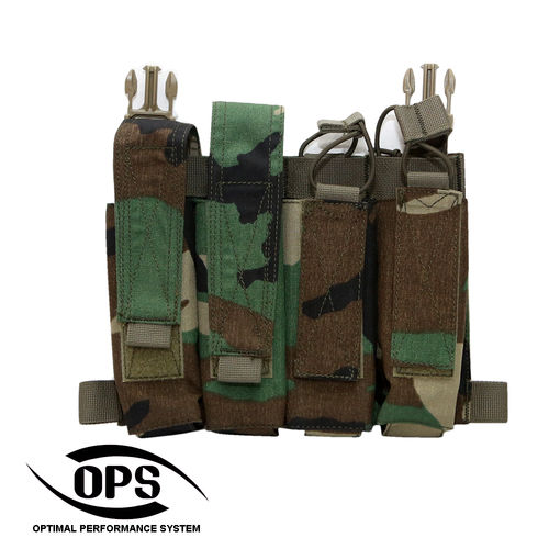 OPS Quattro SMG Pocket / Panel M81 US Woodland