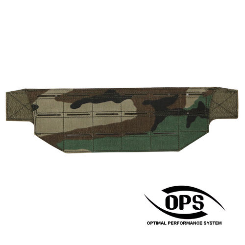 OPS Modular Belt Mount MOLLE Panel M81 Woodland