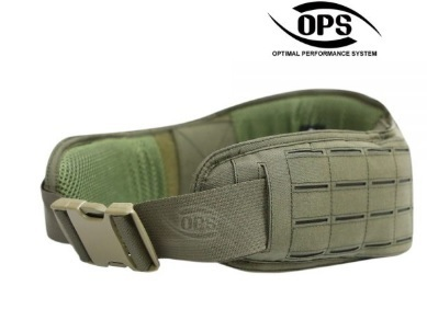 OPS Laser Cut Padded MOLLE Belt Ranger Green