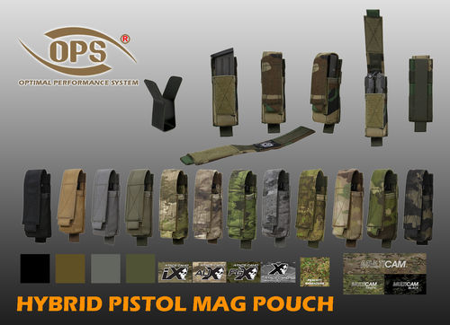 OPS Hybrid Pistol Mag/Multitool Pouch