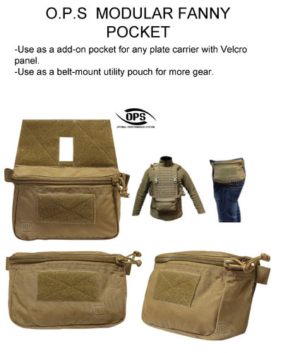 OPS Modular Fanny Pocket Coyote Brown