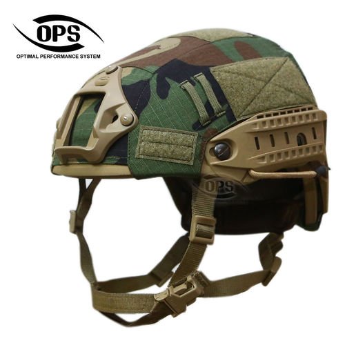 OPS Air-Frame Helmet Cover M81 Woodland